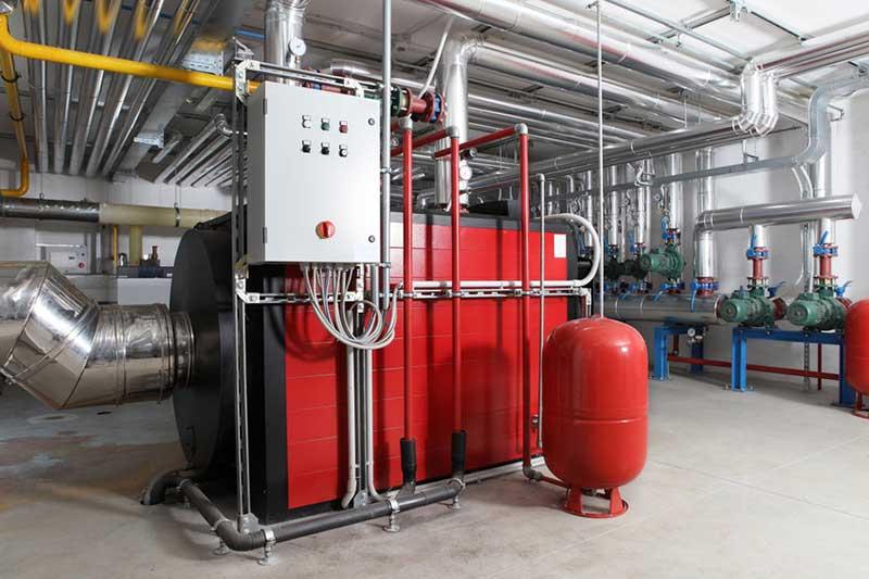 Installation chaufferie industrielle Valence