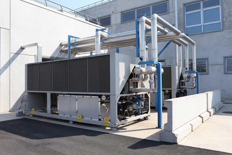 Installation pompe à chaleur pour secteur industriel Valence